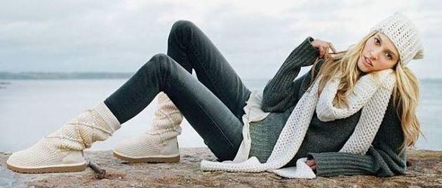 Какие джинсы носить зимой