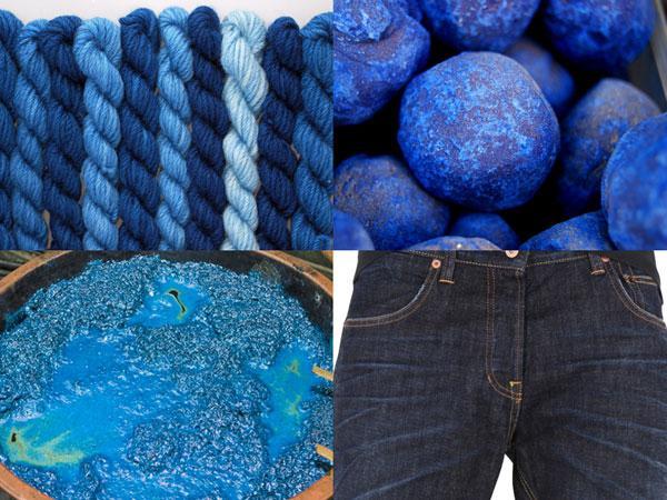 Индиго окрашивание джинсов