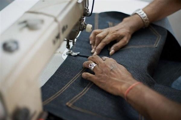 Как сшить дома джинсы