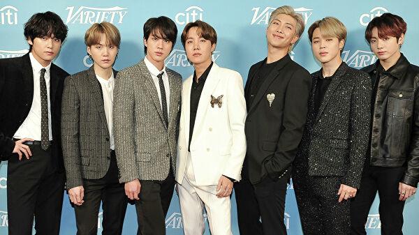 участники бойз-бенда BTS
