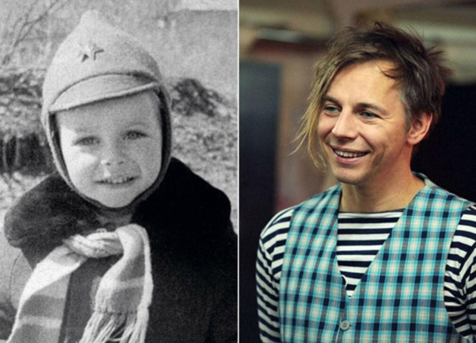Илья Лагутенко в детстве