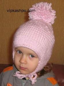как связать детскую шапочку с ушками женский портал райков студио